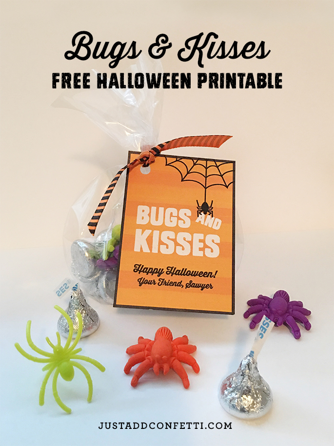 It is a photo of Peaceful Bugs and Kisses Printable