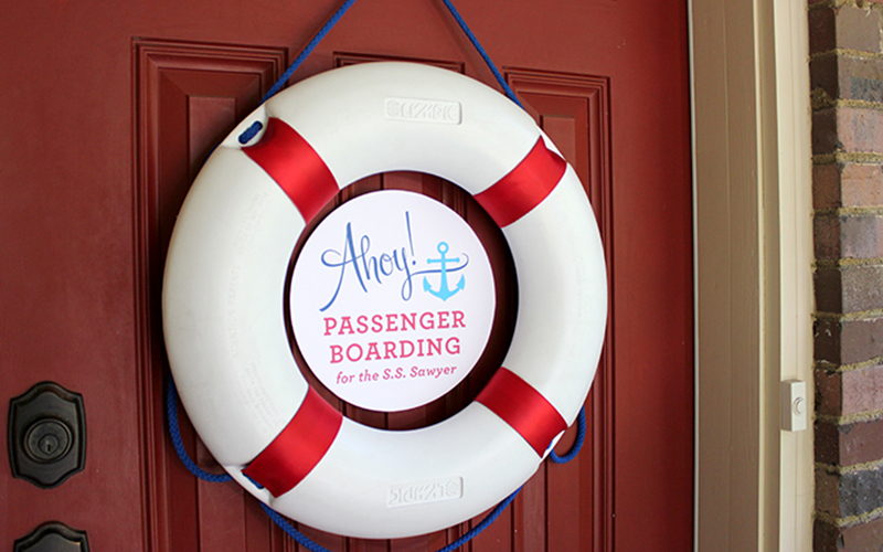 Nautical Party Front Door