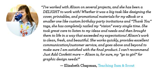 Elizabeth Chapman-Teaching Sam & Scout