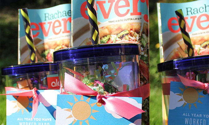 Summer Fun Teacher Gift Idea with Free Printable