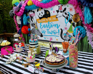 Welcome to the Zoo…Easton is Two! Party Animal celebration