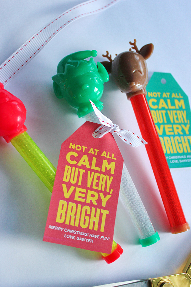 kids christmas gift idea kids christmas party favor free printable free printable gift tags printable gift tags free printable not at all calm but