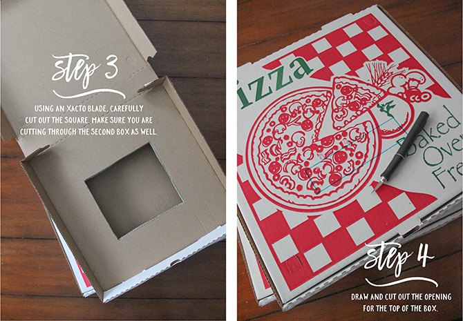 pizza valentine box hack with tutorial and free printables just