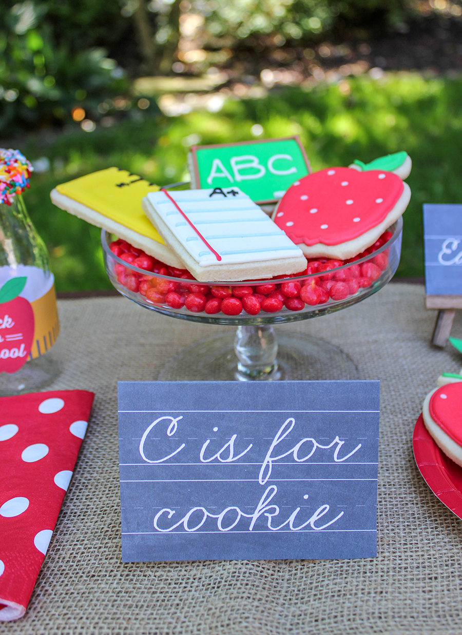 back to school, c is for cookie, Just Add Confetti, school memory book, memory book binder, new family tradition, back to school party, back to school celebration, school printables, free printables, back to school free printables, first day of school interview, last day of school interview, first day of school photo, first day of school drawing, last day of school photo, last day of school drawing, Give Mia Cookie, custom cookies, work hard and be kind, you will do amazing things, family tradition, back to school party and school memory binder,
