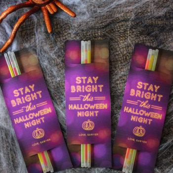 Stay Bright This Halloween Night: Glow Stick Halloween Gift Idea