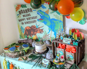 A Dino-mite Dinosaur Birthday Party
