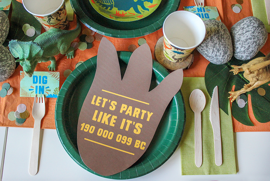 dinosaur party, dinosaur, dinosaur kids birthday, kids birthday, kiki boxes, kikiboxes, collaboration, Just Add Confetti, Just Add Confetti printables, graphic design, free printables, printables, roarrr means happy birthday in dinosaur, dino dig, dino birthday party, dinosaur birthday, party blogger, Pittsburgh blogger, stomp this way, let's party like it's 190 000 099 BC, creative kids party, creative parties