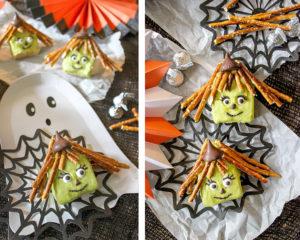 Rice Krispie Witch Halloween Treat