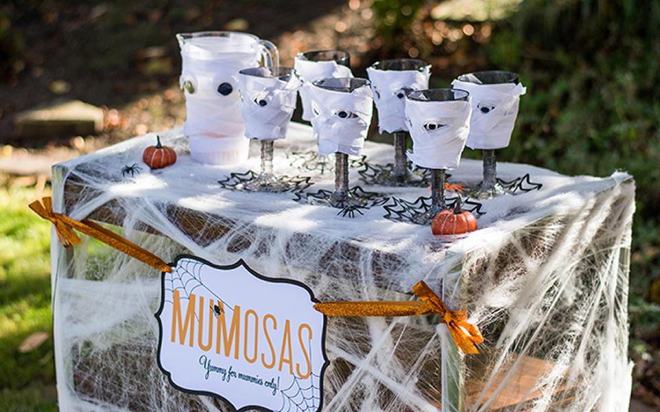 Halloween Spirits, Mumosas, Mimosa Bar, Halloween