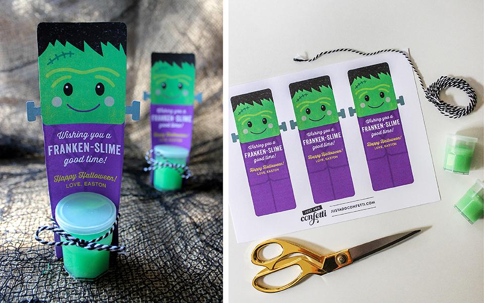 Franken-slime Halloween Gift